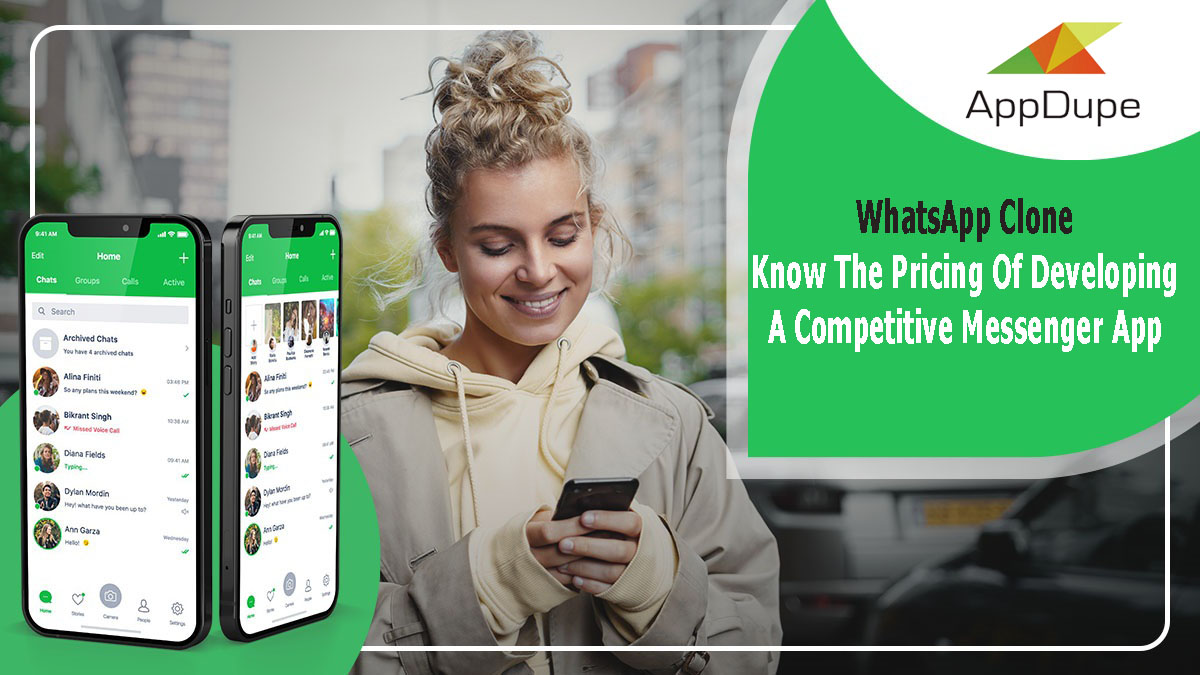 WhatsApp Clone - Know The Pricing Of Developing A Competitive Messenger App